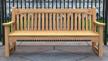 MCC Teak Commemorative Bench 4 Seater  - Chic Teak® | Luxury Teak Furniture