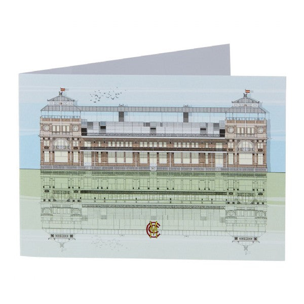 MEMBERS' PAVILION AT LORD'S - GREETING CARD