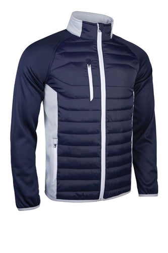 MEN'S PADDED STRETCH PANEL & SLEEVES JACKET - 'ZERMATT'