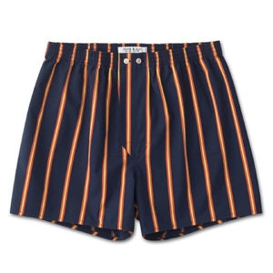 CLASSIC FIT BOXER SHORTS - NAVY PINSTRIPE