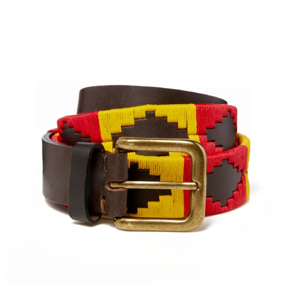 MEN'S FULL COLOUR POLO BELT