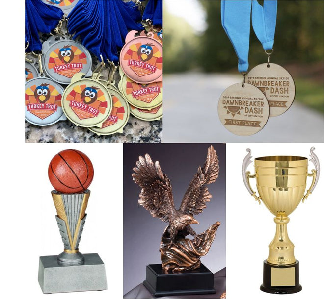 Trophies, Medals & Ribbons