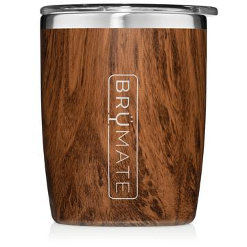 walnut brumate rocks tumbler