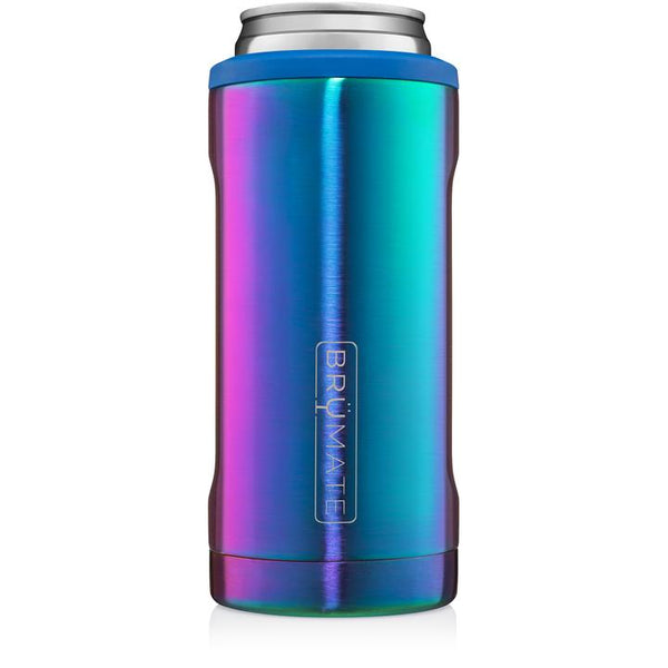 rainbow titanium brumate slim can cooler
