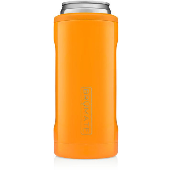 hunter orange brumate slim can cooler