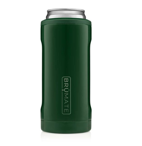 emerald green brumate slim can cooler