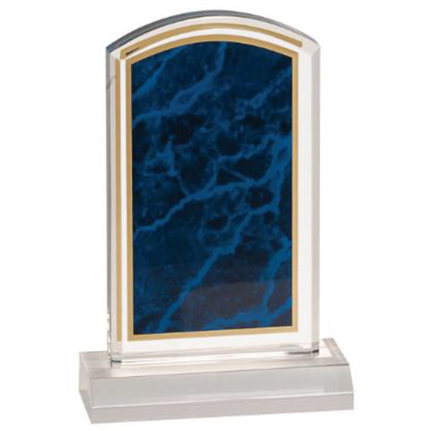 Acrylic Award - Blue Marbleized