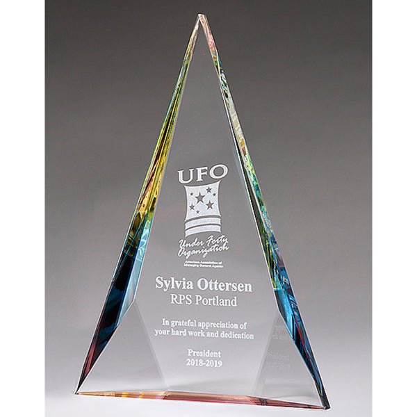 Crystal Award - Prism Triangle