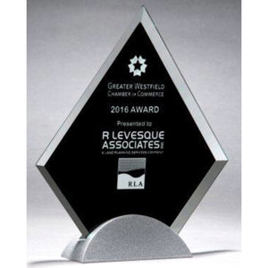 Glass Award - Black Triangle