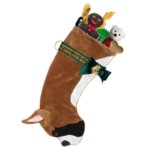 Boxer breed dog stocking