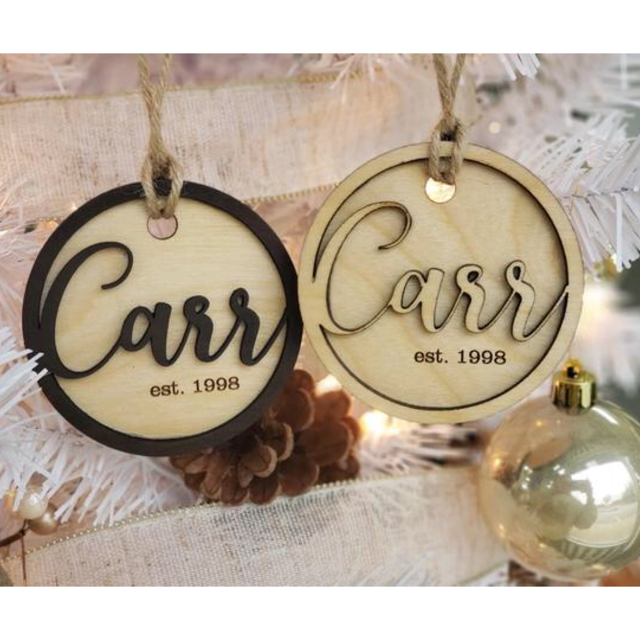 Ornament - Family Name Ornament