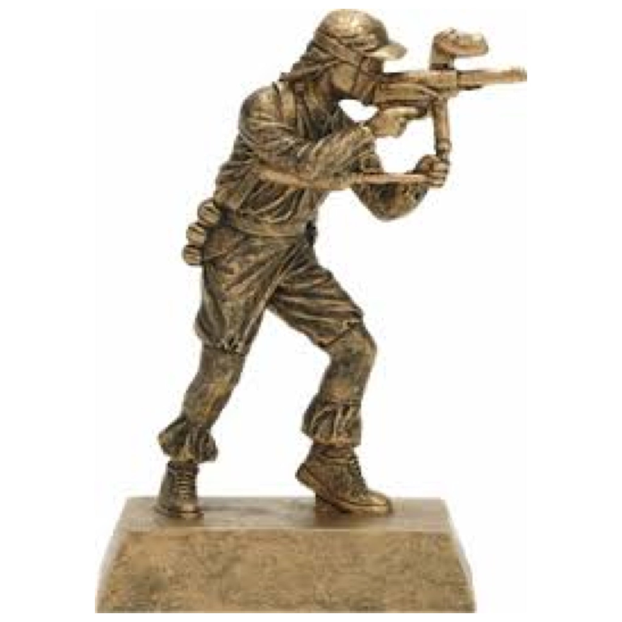 gold paintball gun trophy