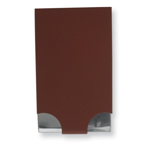 Business Card Holder - Maroon