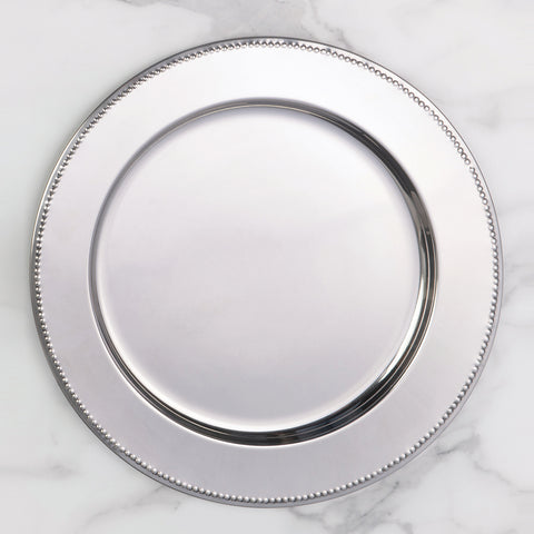 Tray - Beaded Round Charger
