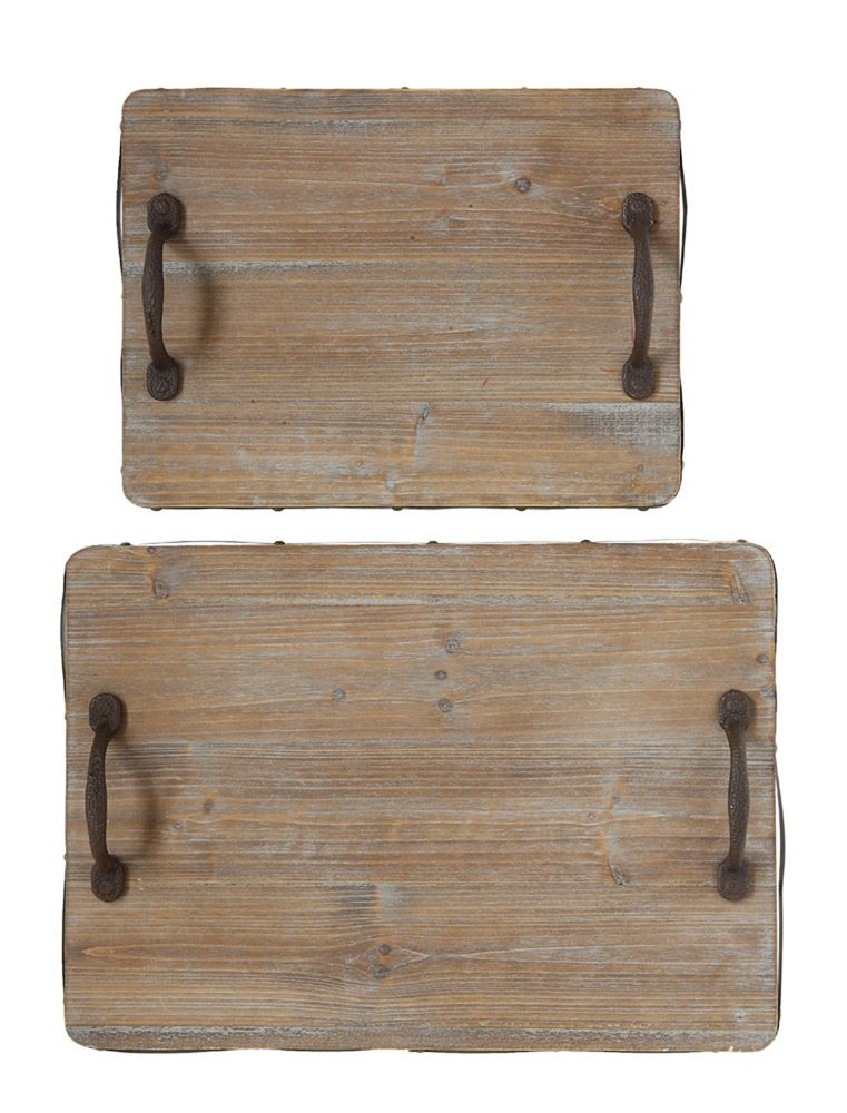 Tray - Wooden Rectangle