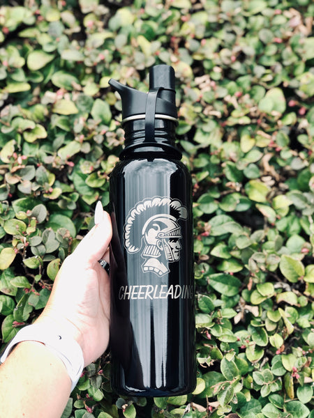 Engraved 25 oz Stainless Steel Water Bottle