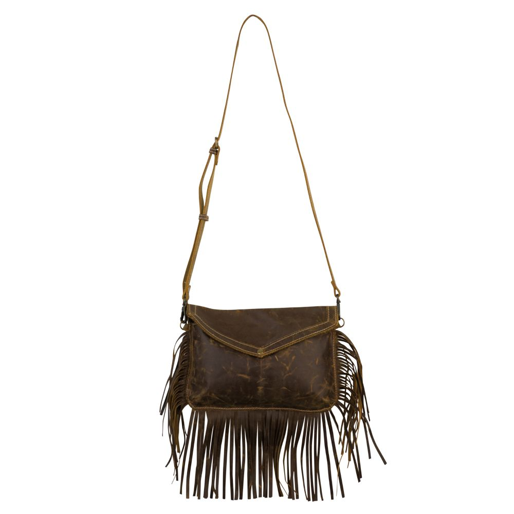 Myra Bag leather fringe crossbody bag