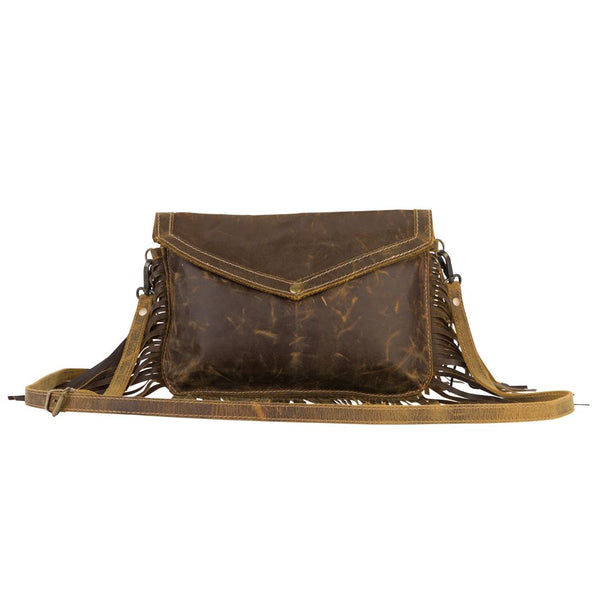 myra bag fringe leather bag