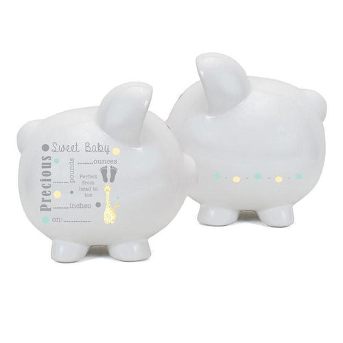 Announcement Piggy Bank