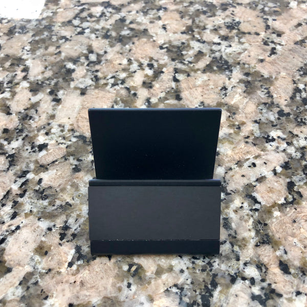 Business Card Holder - Gunmetal
