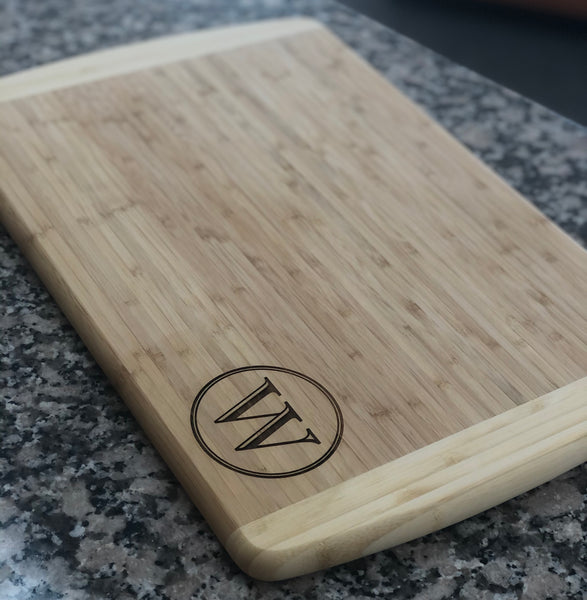Cutting Board - Rectangle Custom Engraved
