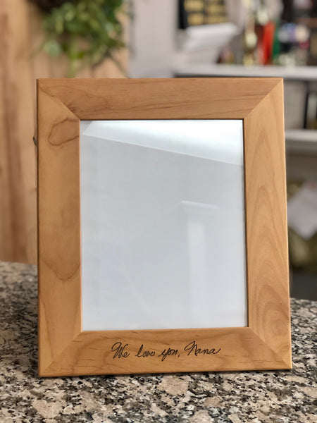Picture Frame - Wooden Custom Engraved