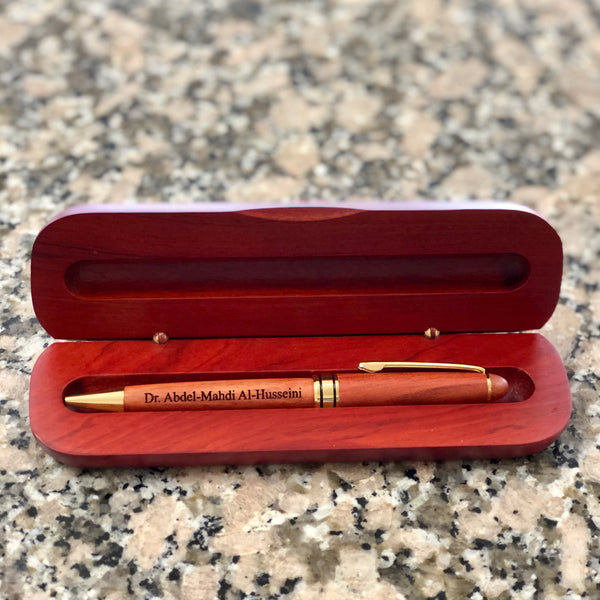 Pen And Case - Rosewood