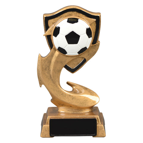 Soccer Trophy - Electric Flame