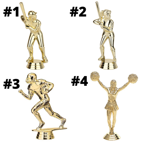 $4 Basic Trophy - All Sports