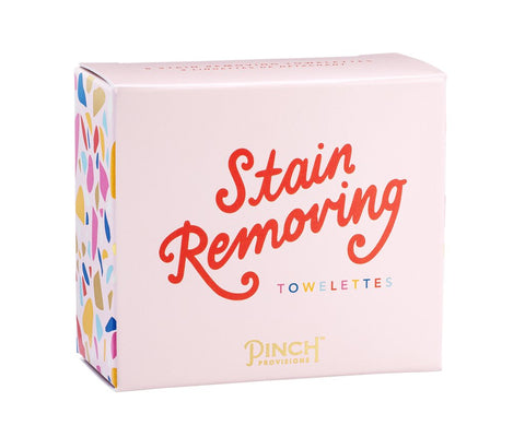 Pinch Provisions - Stain Removing Towelettes