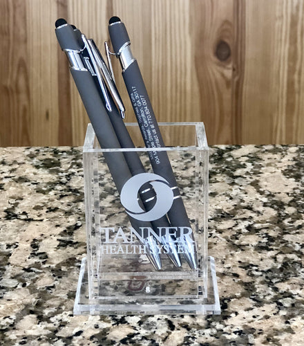 Acrylic Upright Pen Holder