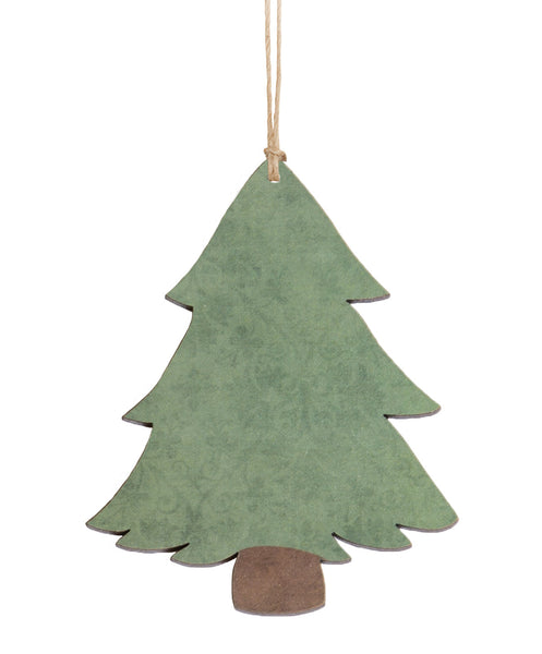 Ornament - Wood Christmas Tree
