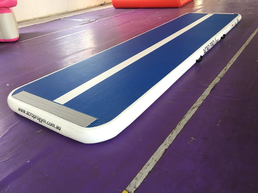 4m x 1m x 10cm Air Track Mint