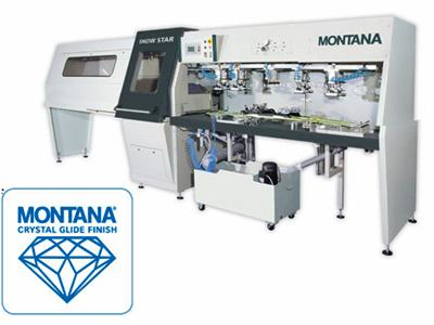 Montana, computer controlled, wide stone, Crystal Glide machine
