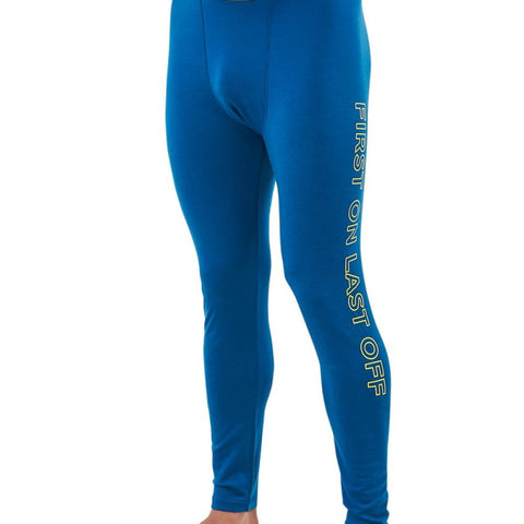 Mons Double Barrel Legging Oily Blue