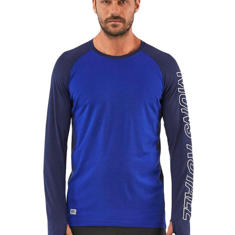 Mons Temple Tech LS Navy / Electric Blue