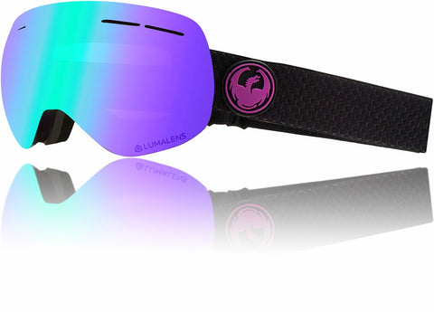 Dragon X1S 2019 Snow Goggle - SPLIT / LL PURPLEIONISED / LL AMBER