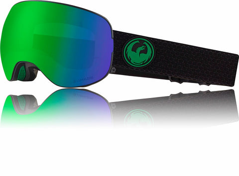 Dragon X2 2019 Snow Goggle - SPLIT / LL GREENIONISED / LL AMBER