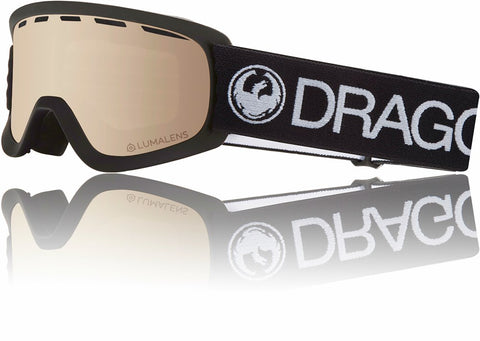 Dragon LILD  2019 Snow Goggle - BLACK / LL SILVERIONISED