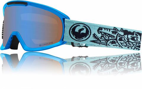 Dragon DX2 2019 Snow Goggle - DANGER / LL BLUEIONISED / LL AMBER
