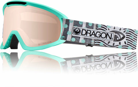 Dragon DX2 2019 Snow Goggle - NEW WAVE / LLSILVER IONISED / DARK SMOKE