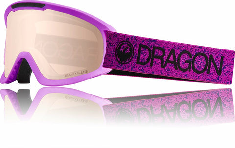 Dragon DX2 2019 Snow Goggle - VIOLET / LL SILVERIONISED / DARK SMOKE