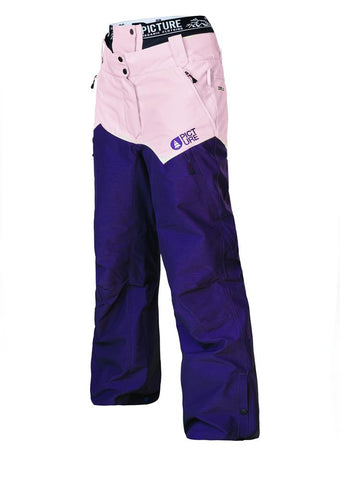 Picture Week End Pants Purple