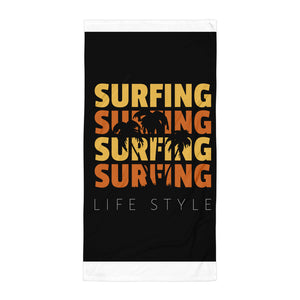 Surf's Up Towel