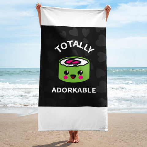 Totally Adorkable Beach Towel