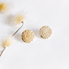 Hammered Brass Studs