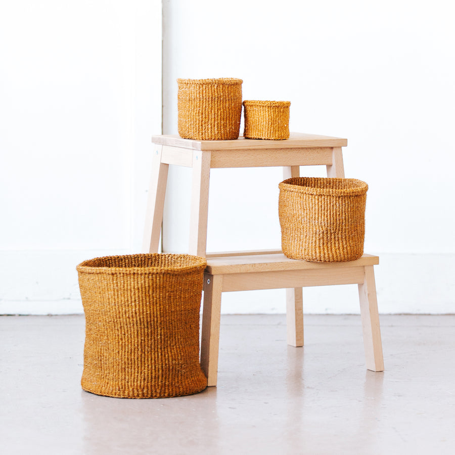 Storage Basket: Ochre