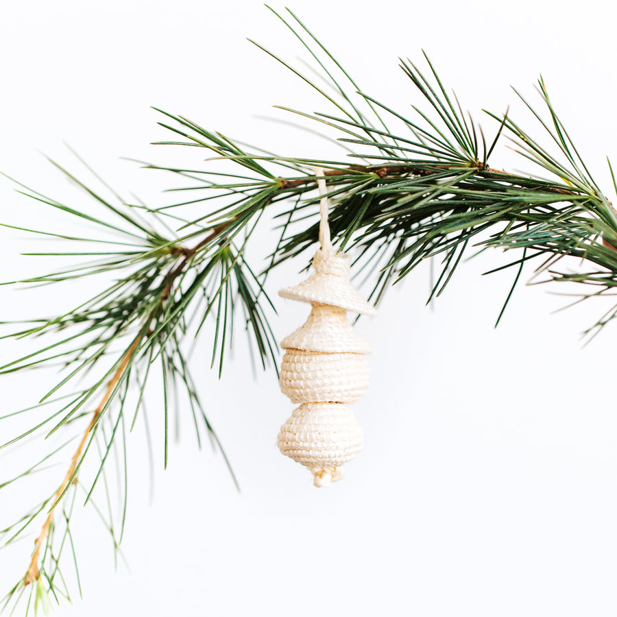 Mini Woven Ornament