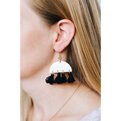 Malindi Tassel Earrings