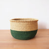 Hunter Green Storage Basket
